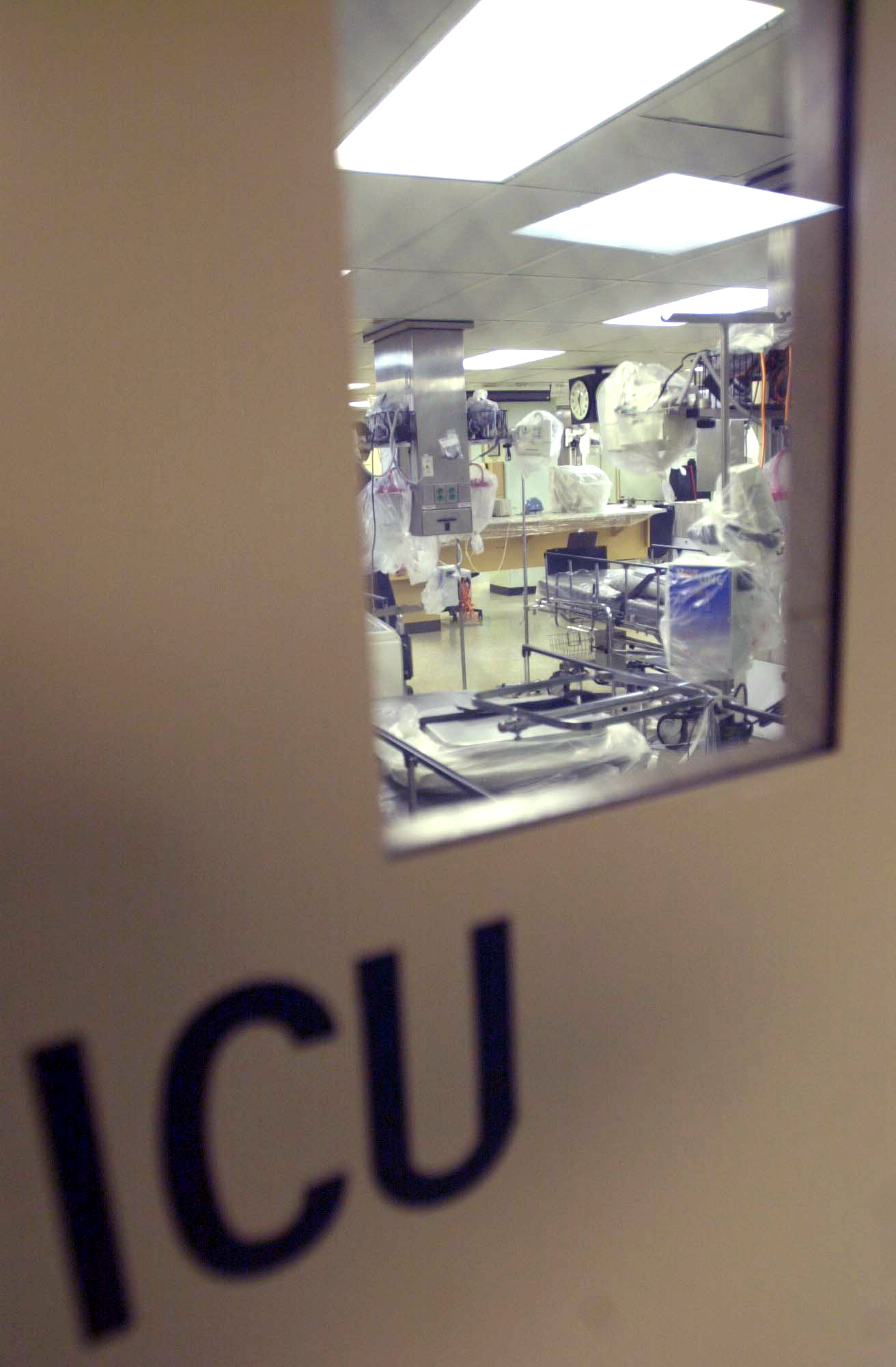 one of four intensive care units icu aboard comfort