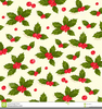 Clipart Christmas Holly Berries Image