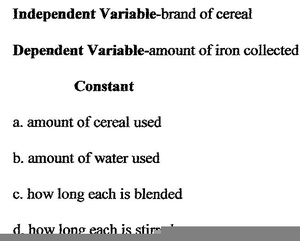 Dependent Variable Examples Image