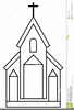 Church Building Clipart Image