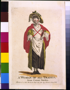 A Woman Of All Trades, From Covent Garden Image