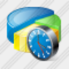 Icon Pie Chart Clock Image