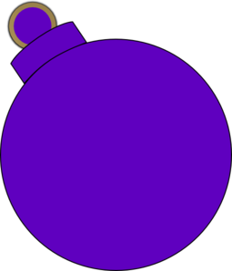 Purple Ornament Clip Art