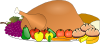 Thanksgiving Spread Clip Art