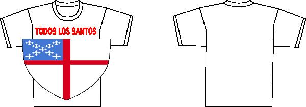 Episcopal shield vector