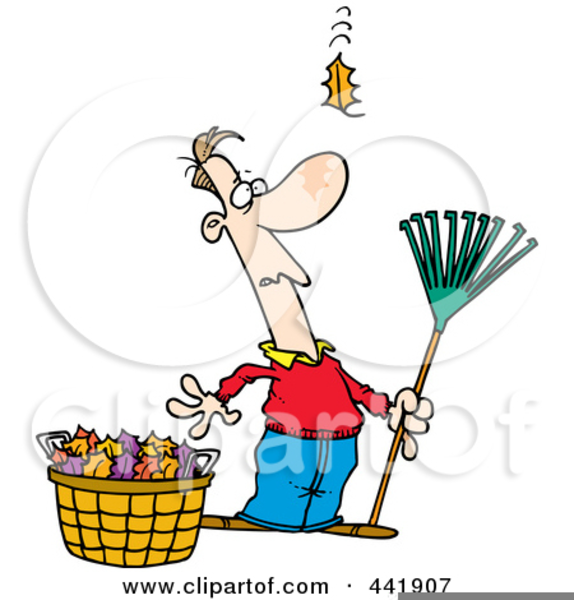 Free Raking Leaves Clipart Free Images At Clker Com Vector Clip