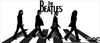 Beatles Abbey Road Clipart Image