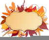 Clipart Divider Leaves Lines Thanksgiving Image
