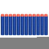 Clipart Of Nerf Darts Image