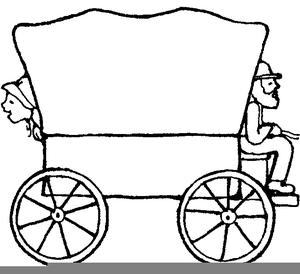 lds covered wagon clipart free images at clker com vector clip rh clker com pioneer wagon clipart free Cartoon Pioneer Wagons