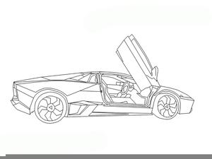 Lamborghini Clipart Free Images At Clker Com Vector Clip Art