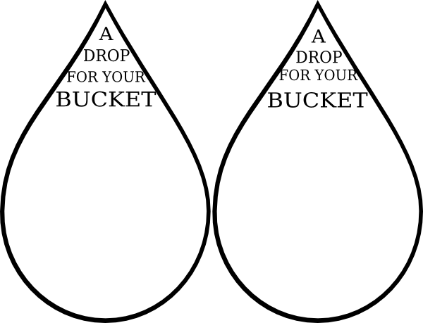 Drop For Your Bucket Clip Art at Clker.com - vector clip art online ...