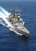 The Spruance Class Destroyer Uss Deyo (dd 989) Conducts Underway Operations In Support Of Operation Iraqi Freedom. Image