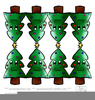 Free Christmas Tree Ornament Clipart Image