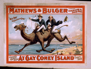 Mathews & Bulger In The Polite Comic Play, At Gay Coney Island By Levin C. Tees. Image