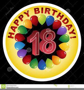 Happy Th Birthday Clipart Image