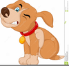 Cartoon Pit Bull Clipart Image