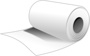 Tissue Clip Art... Empty Toilet Paper Roll Png