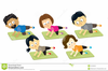 Stretching Clipart Images Image