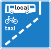 Bus Lane Clip Art