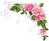 Yellow Rose Clipart Border Image