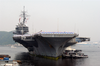 Uss Kitty Hawk (cv 63) Returns To Yokosuka, Japan From Her Deployment To The Arabian Gulf Image