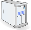 Small Case Web Mail Server Clip Art