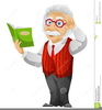 Book Cartoon Character Clipart Image
