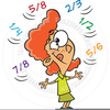 Animated Fractions Clipart Image