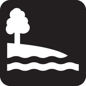 Shore Access Icon Image