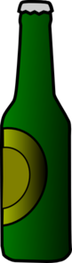 Beer Bottle 5 Clip Art