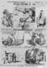 Mclean S Monthly Sheet Of Caricatures No. 19 Or The Looking Glass Clip Art