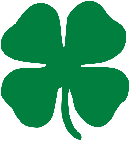 clover symbol service through 4 h logo 4 h clover symbol 4 h club ...