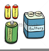 Cartoon Battery Clipart Image