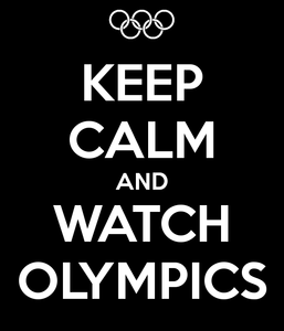 Keep Calm And Watch Olympics Image