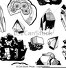 Rocks And Minerals Clipart Free Image