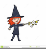 Cartoon Halloween Witch Clipart Image