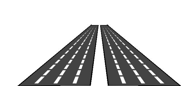 Empty Roads Clip Art at Clker.com - vector clip art online ...