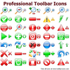 Professional Toolbar Icons Image