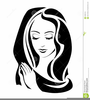 Virgin Mary Clipart Image