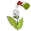 Weed Spraying Clipart Image