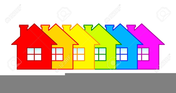 Free Clipart Row Of Houses Free Images At Clker Com Vector Clip
