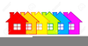 Free Clipart Row Of Houses Image