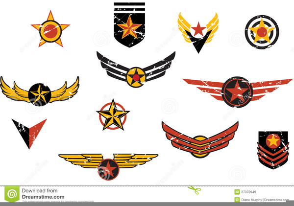 Emblem shield military badge logo.