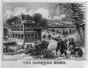 The Farmers Home, Winter Image