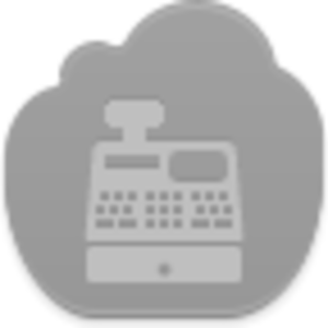 Cash Register Icon Image
