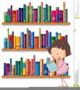 Thin Book Clipart Image