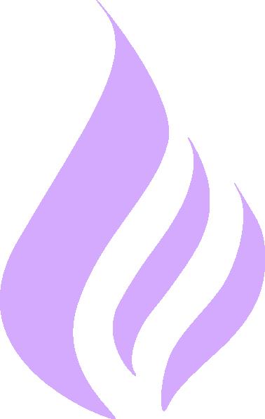 blue flame simple purple clip art at clkercom vector