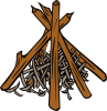 Campfires And Cooking Cranes 11 Clip Art