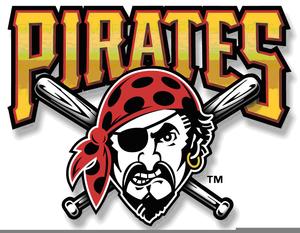 Pittsburgh Pirates Baseball Clipart Image